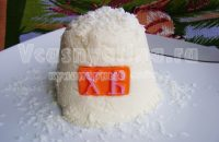 Творожная пасха с кокосовой стружкой – рецепт с фото