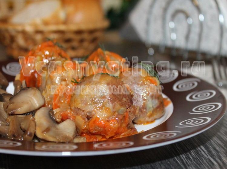 Рецепт постных фрикаделек из фасоли