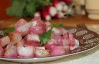 жареный редис рецепт с фото