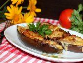 Фаршированные баклажаны с овощами запеченные в духовке: рецепт с фото