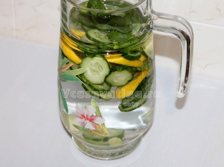 Вода «Сасси» - рецепт приготовления с фото