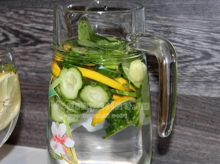 Вода сасси рецепт приготовления