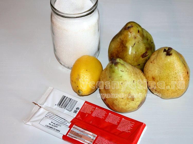 Ингредиенты для джема