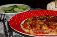 Помидоры запеченные с моцареллой: рецепт с фото