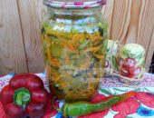 Салат из баклажанов на зиму: рецепт с фото