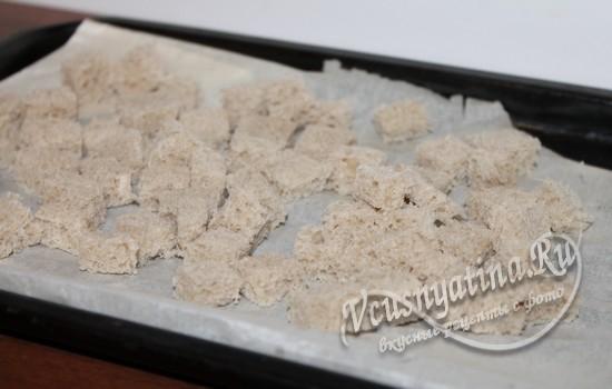 Сухарики для салата Мишура