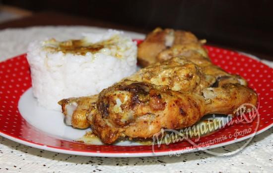 Куриные ножки в кефире в духовке: рецепт с фото