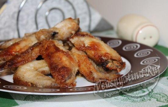 Острые куриные крылышки в духовке
