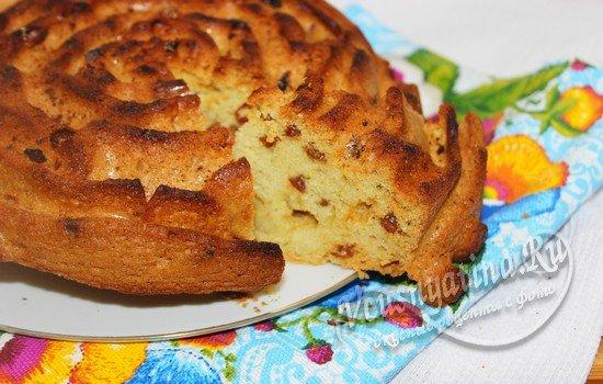 медовый кекс в духовке рецепт с фото пошаговый