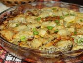 Запеканка с рыбой и картошкой в духовке: рецепт с фото