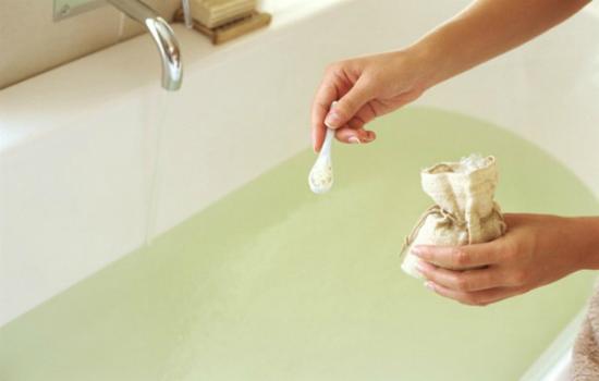 английская соль для ванны