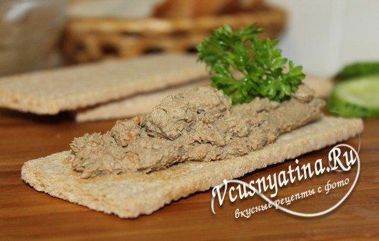 Печеночный паштет из куриной печени: рецепт с фото пошагово