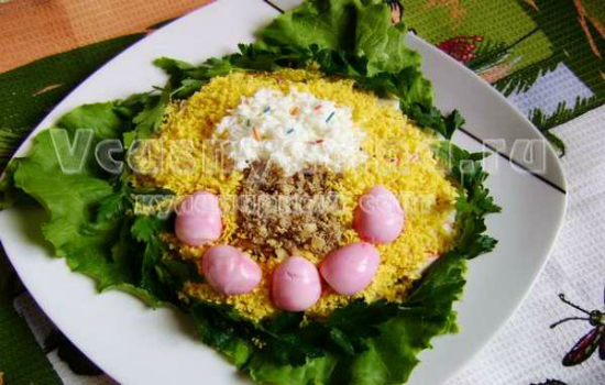 пасхальный салат готов