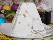 пасха с творогом без яиц