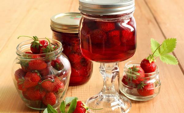 Варенье из клубники на зиму густое с целыми ягодами