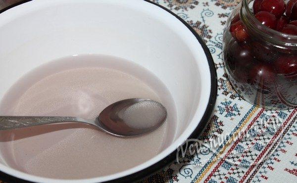 растворить сахар