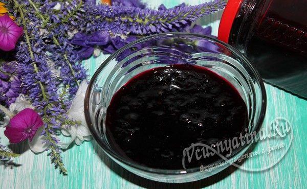 Конфитюр из черной смородины