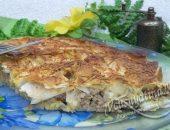 пирог из лаваша с фаршем в духовке