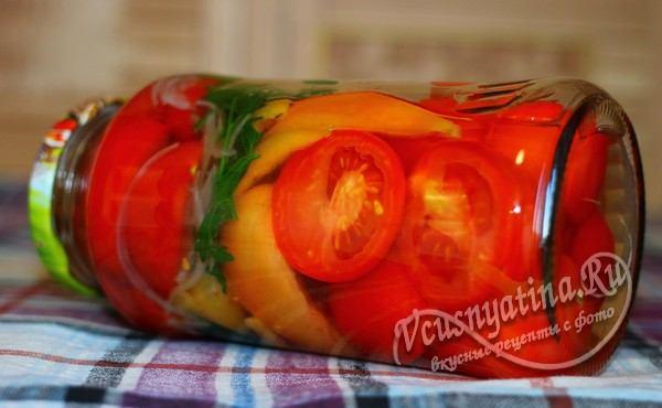 помидоры с болгарским перцем на зиму рецепты с фото пальчики оближешь