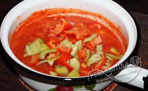 добавить перец в томат