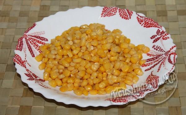 слить с кукурузы жидкость