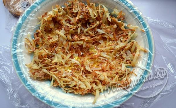 второй слой картофель