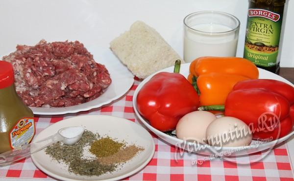 ингредиенты для мясной запеканки
