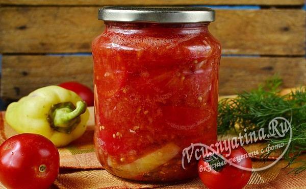 резаные томаты в собственном соку