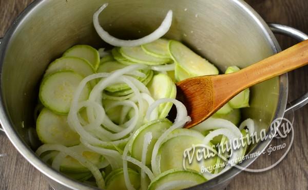 оставить овощи на время, чтобы они пустили сок