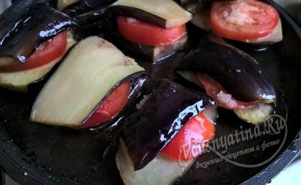 сборка сэндвичей из овощей