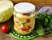 Кубанский салат из капусты