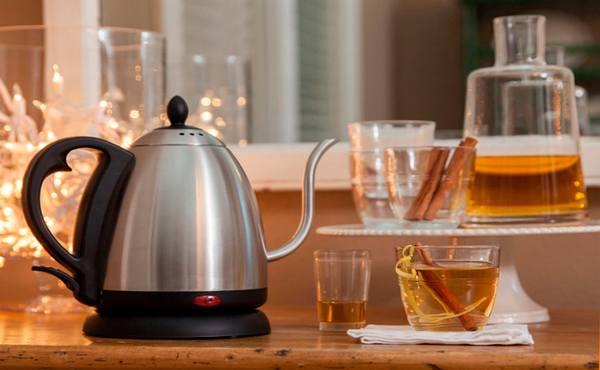 Чистим чайник от накипи кока-колой, пошаговая инструкция