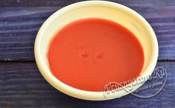 развести томатную пасту