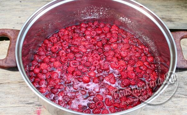ягодки погруженные в сироп