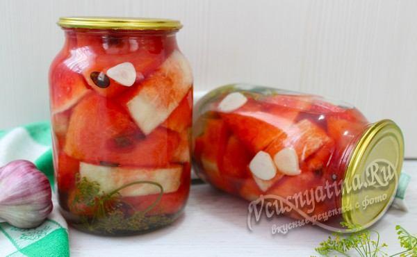 арбузы на зиму