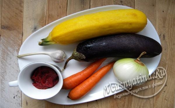 продукты для соте на зиму