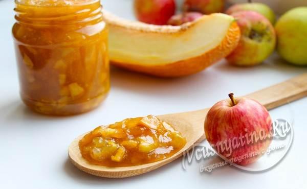 яблочное варенье с дыней