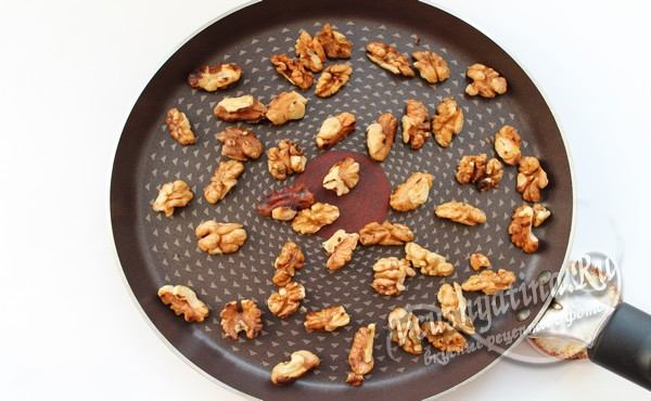 обжарка орехов