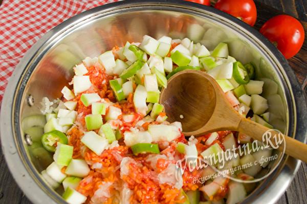 прогреть салат