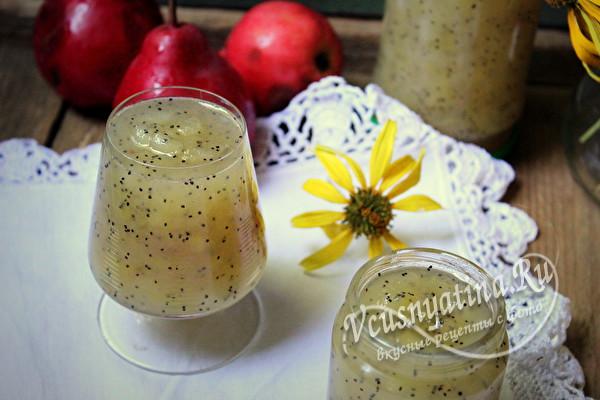 Варенье из груш с маком очень-очень вкусное