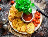 Самые вкусные кабачковые оладьи с чесноком и сыром