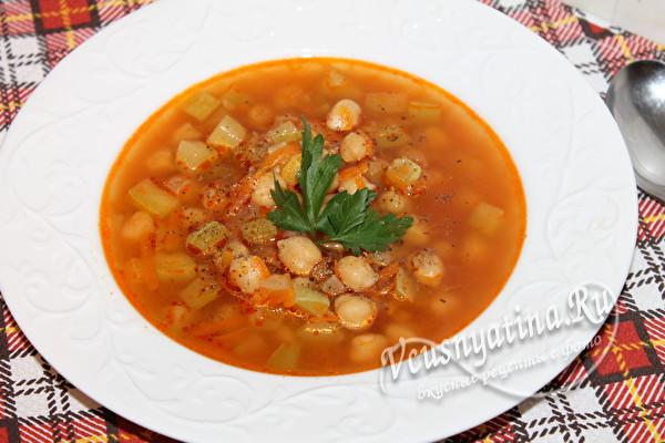 суп с нутом готов