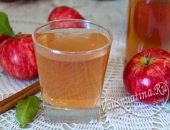 яблочный сок с корицей и гвоздикой