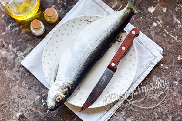 разморозить рыбу