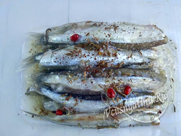 замариновать рыбу