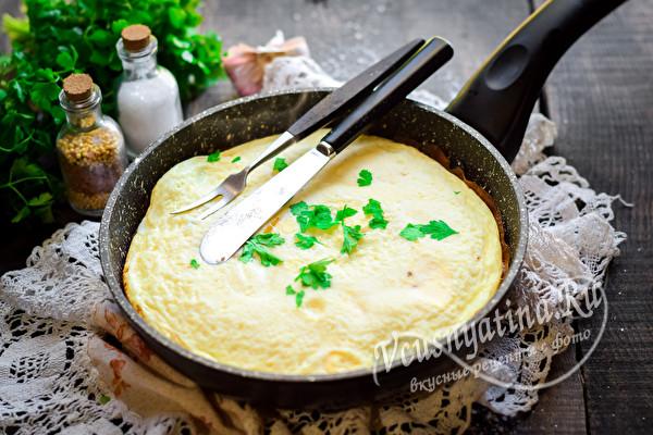 готовый омлет
