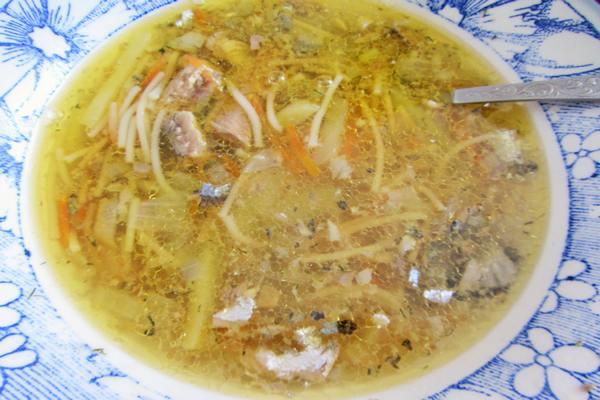 Суп из рыбных консервов – 3 любимых рецепта