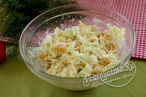 почти готовый салат