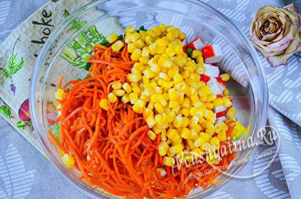 добавить сладкую кукурузу