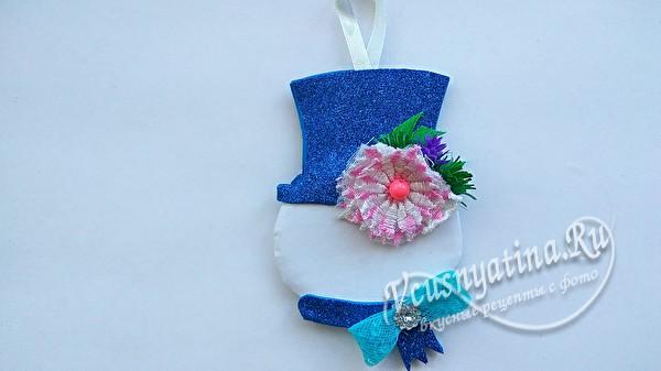 бантик на шарфике
